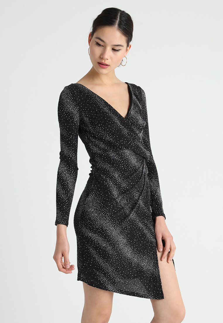Sista Glam - COBY - Shift dress - black