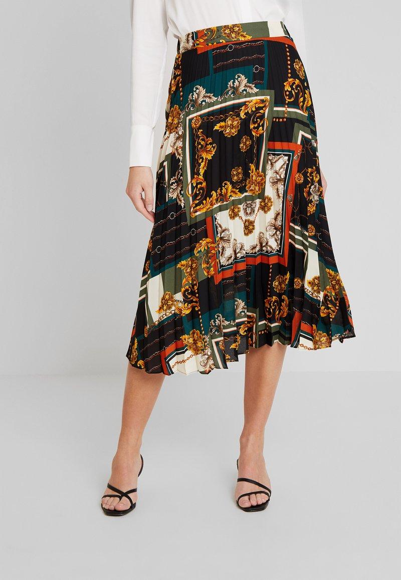 Dorothy Perkins - PLEATED - A-line skirt - multi