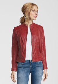 7eleven - CONA - Leather jacket - red - 0