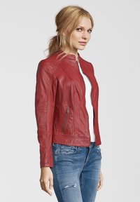 7eleven - CONA - Leather jacket - red - 2