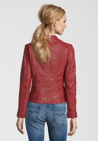 7eleven - CONA - Leather jacket - red - 1