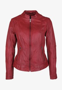 7eleven - CONA - Leather jacket - red - 4