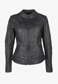 7eleven - CONA - Leather jacket - anthra - 3