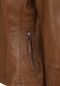 7eleven - PENELOPE - Leather jacket - mocca - 4