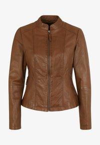 7eleven - PENELOPE - Leather jacket - mocca - 3