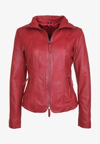 7eleven - GRACE - Leather jacket - red - 3