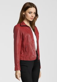 7eleven - GRACE - Leather jacket - red - 2