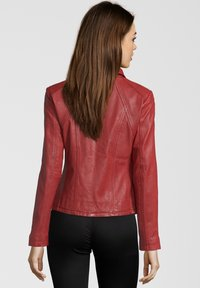 7eleven - GRACE - Leather jacket - red - 1