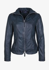 7eleven - GRACE - Leather jacket - navy - 3