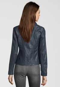 7eleven - GRACE - Leather jacket - navy - 1