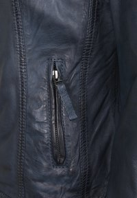 7eleven - GRACE - Leather jacket - navy - 4