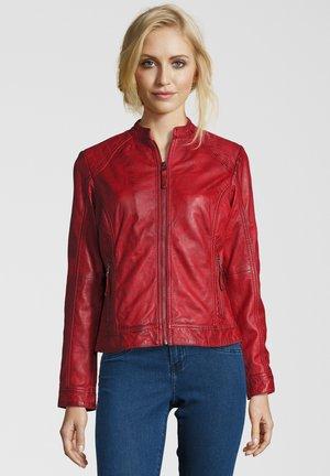 ROSALIE - Leather jacket - rot