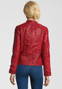 7eleven - ROSALIE - Leather jacket - rot - 1