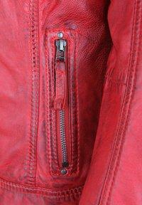 7eleven - ROSALIE - Leather jacket - rot - 3