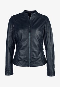 7eleven - ROSALIE - Leather jacket - navy - 3