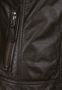 7eleven - ROSALIE - Leather jacket - dunkelbraun - 3