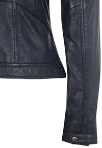 7eleven - URSULA - Leather jacket - navy - 4