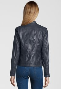 7eleven - URSULA - Leather jacket - navy - 1