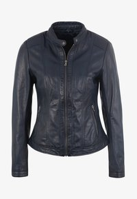 7eleven - URSULA - Leather jacket - navy - 3