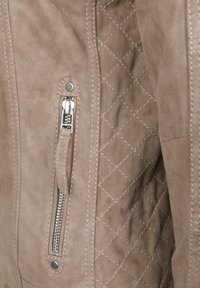 7eleven - STEFF - Leather jacket - sand - 3