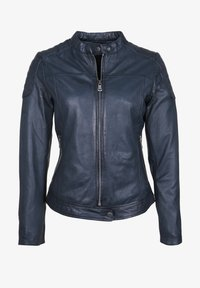 7eleven - TALLY - Leather jacket - blue - 4