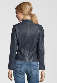 7eleven - TALLY - Leather jacket - blue - 1