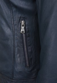 7eleven - TALLY - Leather jacket - blue - 3