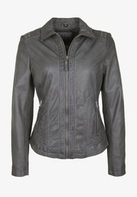 7eleven - AGNES - Leather jacket - grey - 4