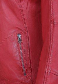 7eleven - SUSAN - Leather jacket - red - 3