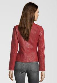 7eleven - SUSAN - Leather jacket - red - 1