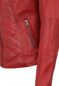 7eleven - RENATE - Leather jacket - rot - 3