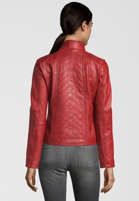 7eleven - RENATE - Leather jacket - rot - 1