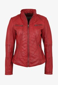 7eleven - RENATE - Leather jacket - rot - 4