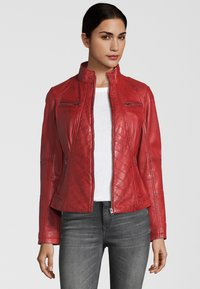 7eleven - RENATE - Leather jacket - rot - 0