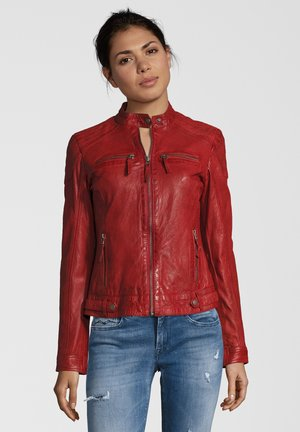 MARIAN - Leather jacket - rot