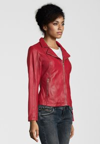 7eleven - CYNTHIA - Leather jacket - rot - 2