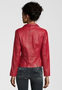 7eleven - CYNTHIA - Leather jacket - rot - 1