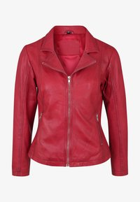 7eleven - CYNTHIA - Leather jacket - rot - 3