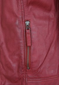 7eleven - ANJA - Leather jacket - rot - 3