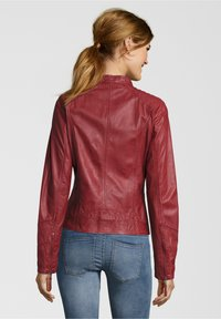 7eleven - ANJA - Leather jacket - rot - 1