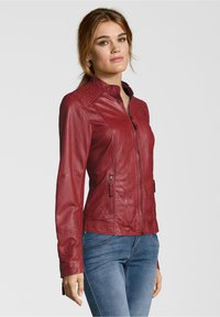 7eleven - ANJA - Leather jacket - rot - 2