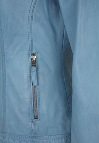 7eleven - RESI - Leather jacket - bleu - 3