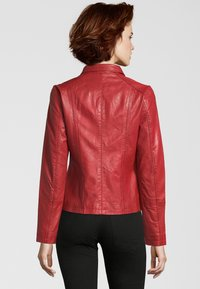 7eleven - Leather jacket - red - 1