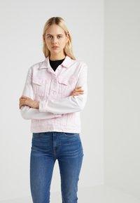 7 for all mankind - MODERN TRUCKER  - Veste en jean - cotton candy - 3