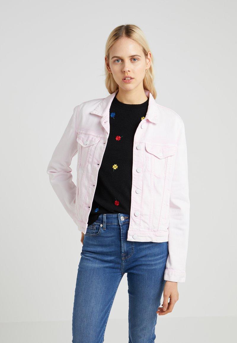 7 for all mankind - MODERN TRUCKER  - Veste en jean - cotton candy