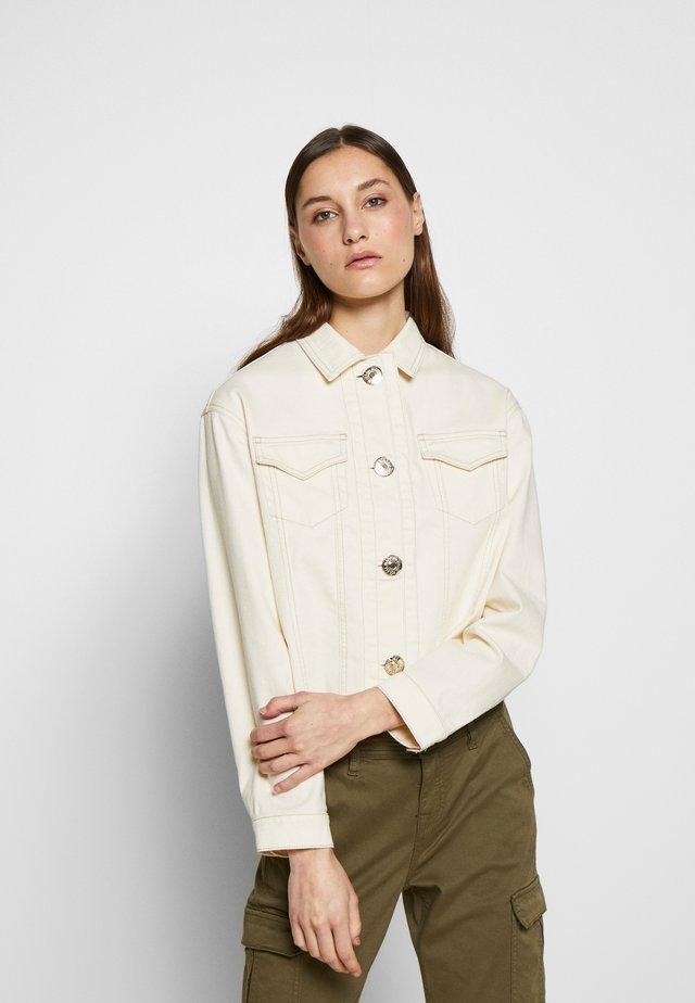 NEW JACKET - Denim jacket - off-white
