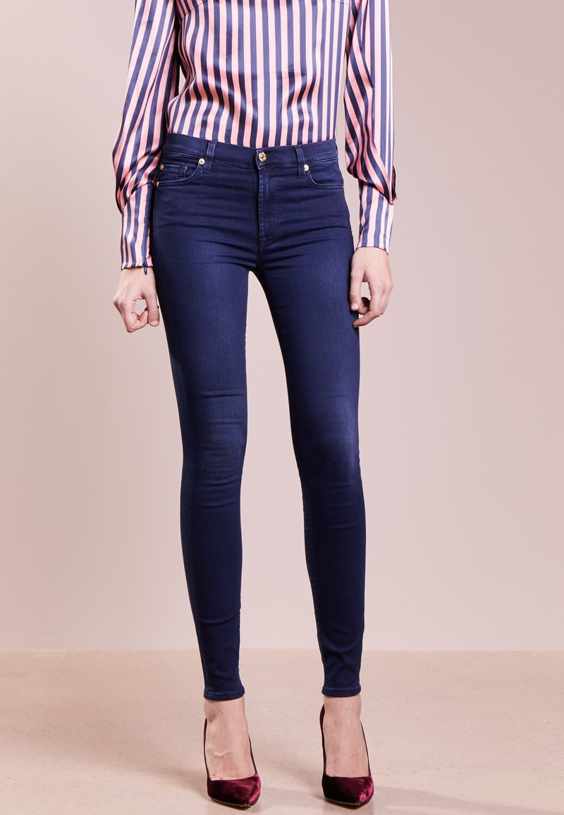 7 for all mankind - HIGHTWAIST - Jeans Skinny Fit - indigo
