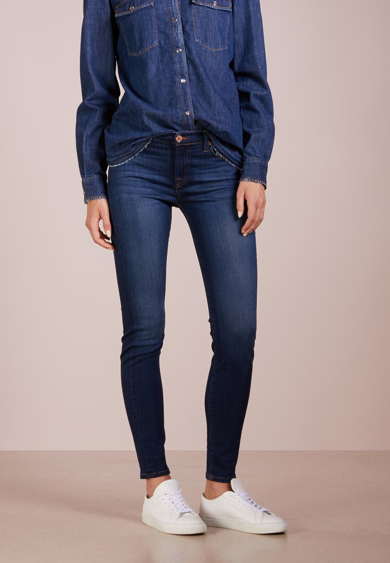 7 for all mankind - THE ILLUSION LUXE  - Jeans Skinny - starlight