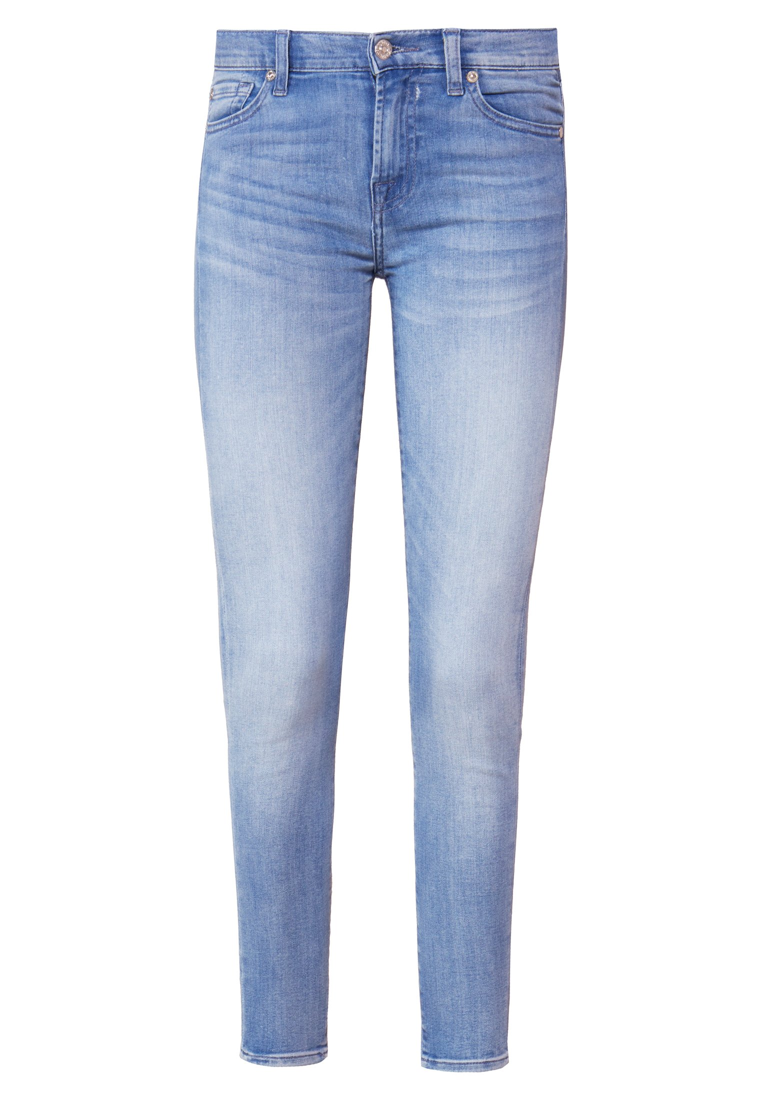 7 for all mankind Jeansy Skinny Fit - bair clean rinse
