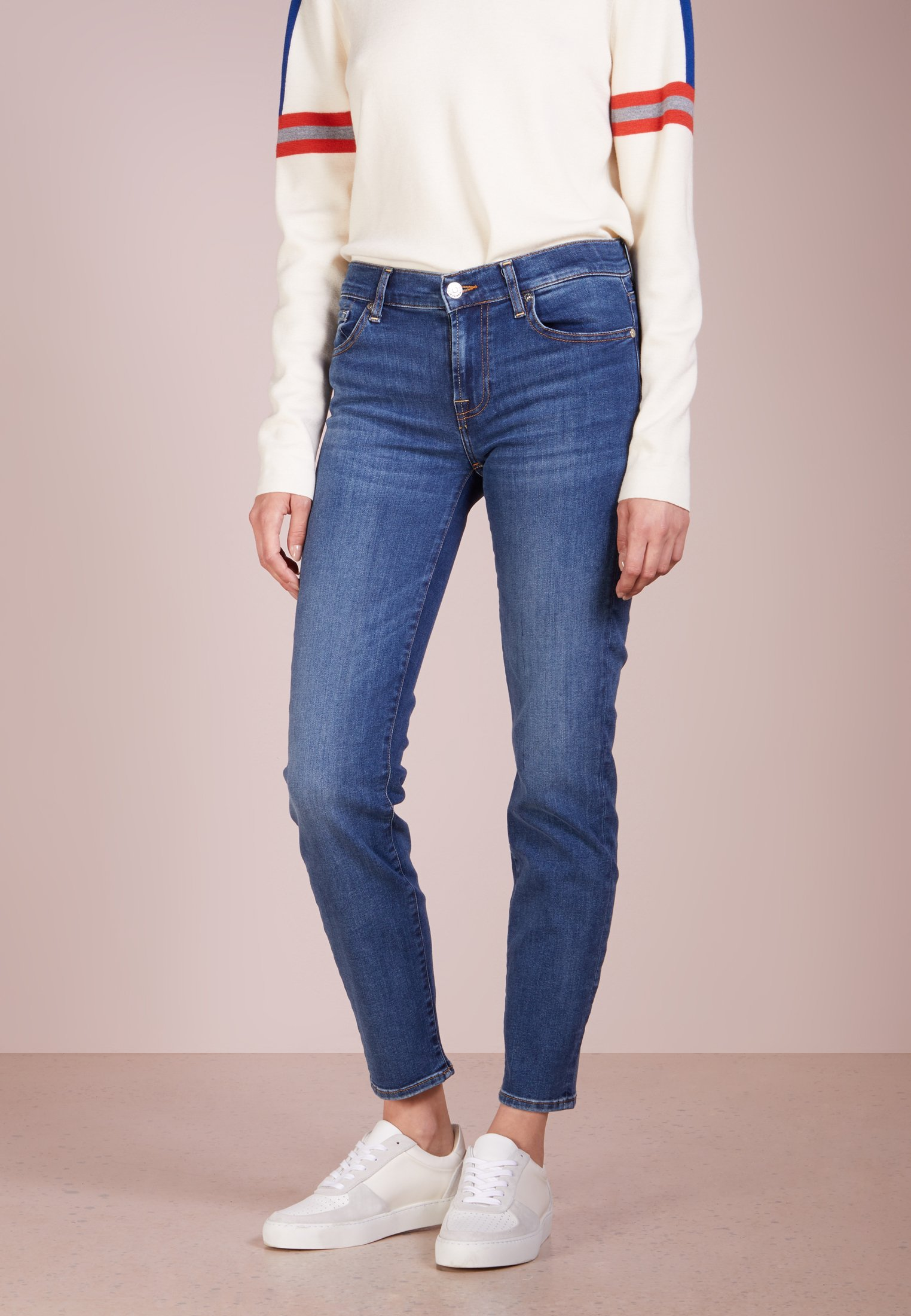 7 for all mankind ROXANNE - Jeansy Slim Fit - bair vintage dusk